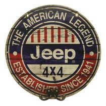 Cabideiro em MDF Jeep The American Legend - 28 cm de diâmetro