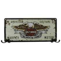 Cabideiro em MDF - Águia Harley Davidson