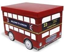 Caixa em metal - Welcome to London (Bus)