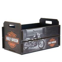Caixote feira em MDF - Harley Davidson