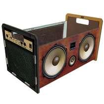 Caixote organizador 19x30 cm- Áudio