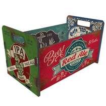 Caixote organizador 19x30 cm- Vintage Beer