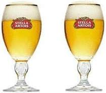 Cálices para cerveja Stella Artois 250ml  - 2 unid.