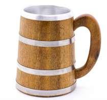Caneca Artesanal Reta Viking 600 ml