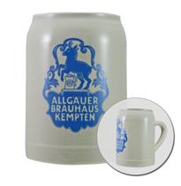 Caneca Cerveja de cerâmica - Allgäuer Brahaus Kempent - 500ML