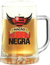 Caneca Cerveja Flamengo 500 ml - Nação Rubro Negra