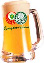 Caneca Cerveja Scandinavia Palmeiras 355 ml - Campioni