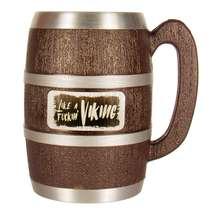 Caneca Viking Edição Colecionador - Coisas de Boteco - Like a Fuking Viking - 600 ml