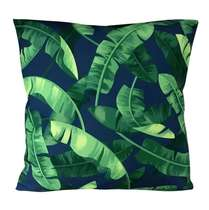 Capa Almofada Banana Tree Leaves - 45x45cm