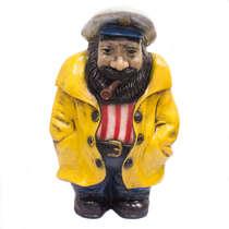 Capitão de Fibra - Capa de chuva amarela