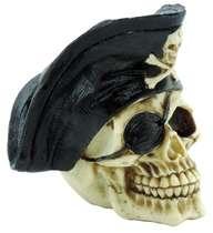 Caveira de Resina - Pirata