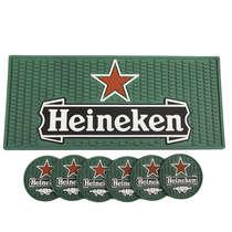 Combo Especial Base para bebidas + 6 porta copos Heineken