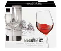 Kit 6 Taças Vinho Magnum 400 ml - Royal Leerdam