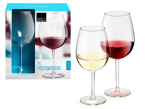 Kit 2 Taças Vinho 580 ml - Royal Leerdam