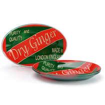 Conjunto de travessa oval - Dry Ginger - 4 peças