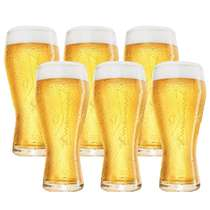 Conjunto de 06 copos  Budweiser - 400 ml