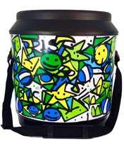 Cooler térmico com alça 24 latas - Arte Brasil