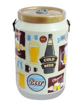 Cooler para 24 latinhas - Cold Beer Retrô Creme