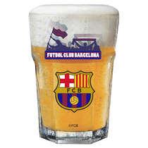 Copo Cerveja Futbol Club Barcelona  400 ml - Coleção Oficial
