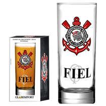 Copo Cerveja Corinthians Fiel ao Time 330 ml - Coleção Oficial
