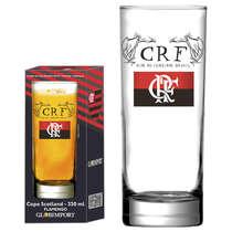 Copo Cerveja Clube de Regatas do Flamengo 330 ml - Coleção Oficial