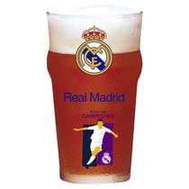 Copo Cerveja Real Madrid Campeones 470 ml - Coleção Oficial