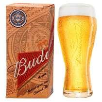 Copo para Cerveja Budweiser - 400 ml