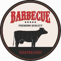 Placa MDF Barbecue - Master Chef