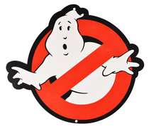 Placa MDF Ghostbuster