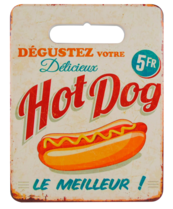 Suporte para panela de cerâmica e cortiça -  Degustez Hot Dog