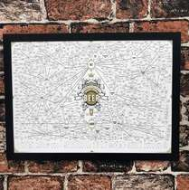 Quadro The magnificent multitude of beer - 33x45cm