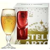 Edição Limitada Festas - 2 Cálices Stella Artois 330 ml