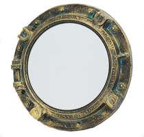 Escotilha de Resina com Espelho - 40 cm