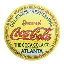 Escudo de Metal - Coca-Cola 45 cm