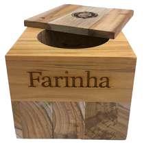 Farinheira Teca Premium - Coisas de Boteco