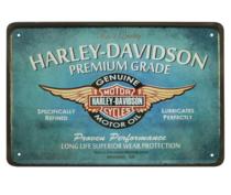 Placa Decorativa em Metal HD Premium Grade - 30x20 cm