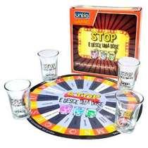 Jogo - Stop e desce mais uma dose