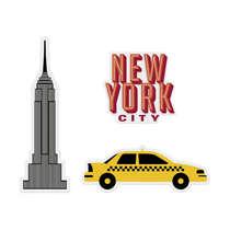 Jogo de Super Imãs -  NY Taxi