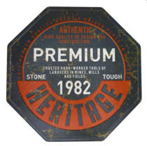 Placa Decorativa de Metal 30 x 30 cm -  Premium 1982