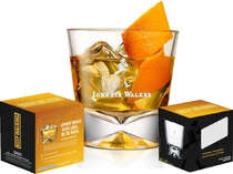 Kit 4 Copos Whisky Johnnie Walker - 300 ml