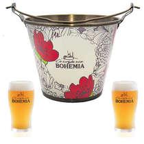 Kit Balde Bohemia + 2 copos Bohemia