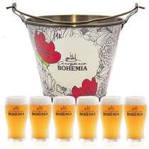 Kit Balde Bohemia + 6 copos Bohemia
