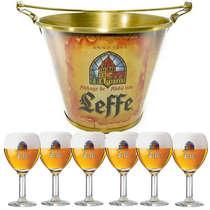 Kit Balde Leffe + 6 Taças Leffe