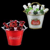 Kit Especial Balde Budweiser + Balde Stella Artois