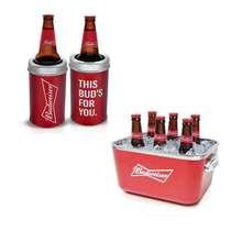 Kit Especial Budweiser - Balde de Acrílico+ Cervegela 600ml