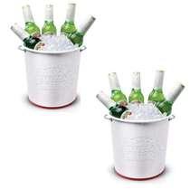 Kit Especial Stella Artois - 2 Baldes c/ Relevo