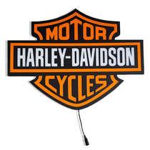 Luminoso com LED Harley Davidson - 44 cm
