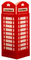 Luminária de Mesa - Cabine Telefônica Londres