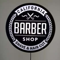 Luminoso Barber Shop - 40 cm