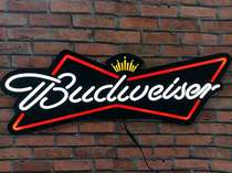 Luminoso Budweiser LED - 80cm